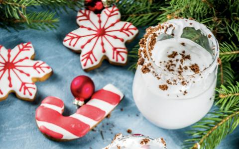 Gingerbread Cookies + Milk