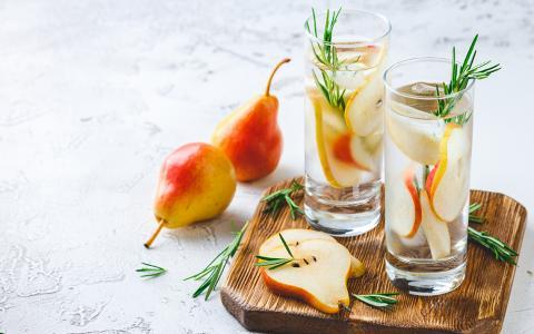 The Spiced Pear (Mocktail)