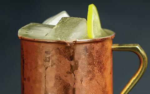 The Frosty Mule - Liquor.com