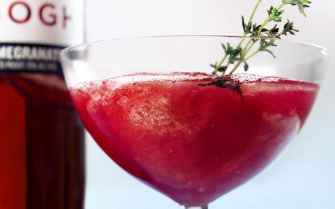 Pomegranate Grapefruit Frose