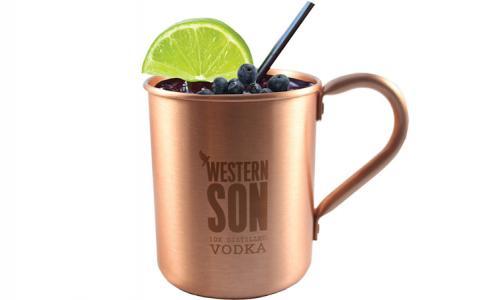 Blueberry Western Mule