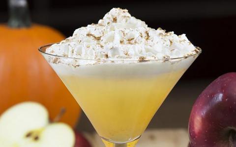 Pumpkin Butter Martini