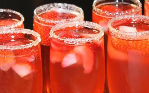 Sauza® Strawberry Sparkler