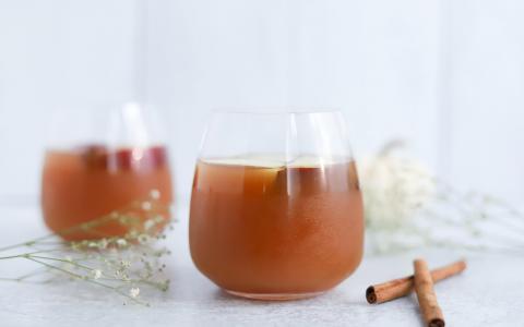 Caramel Apple Mocktail