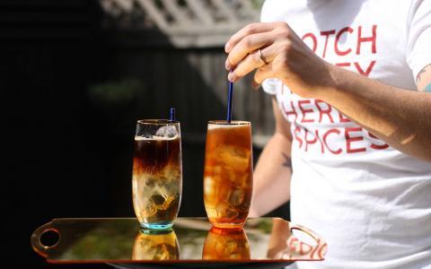 Drambuie Cafe-Tonic