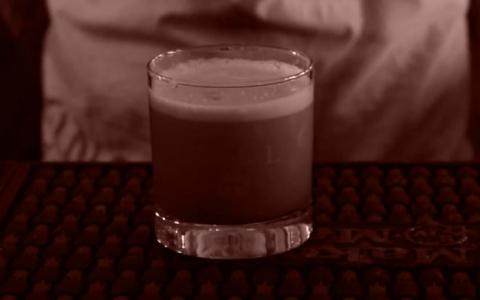 Sloe Gin Fizz at Mason's Brewing