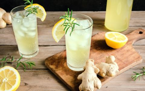 Lemon Mocktail Mule