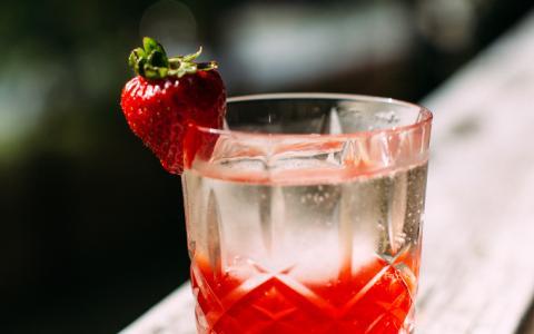 Strawberry Negroni