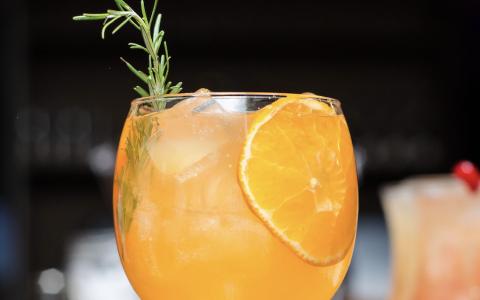 Orange Whiskey Morning