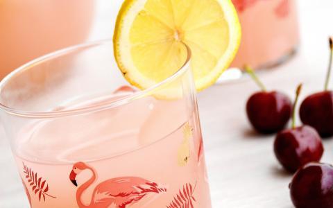 Pink Flamingo Mocktail
