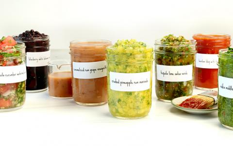 Marinades, Dressings and Sauces