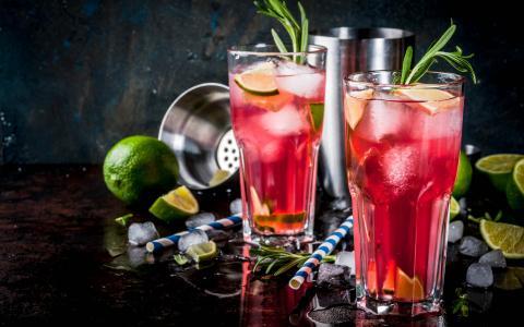Summer Punch Mocktail