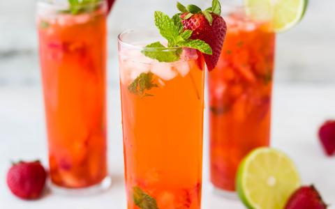 Strawberry Spritzer Pitcher