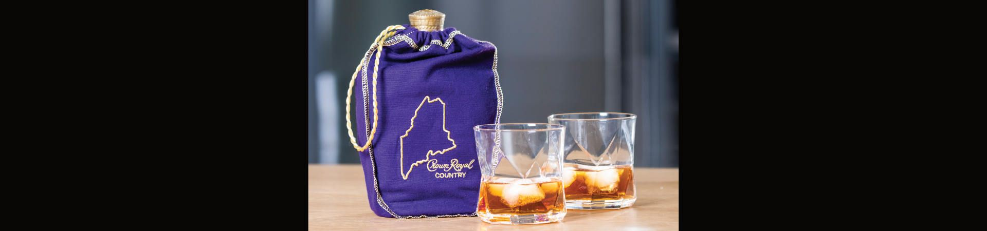 Crown Royal in limited edition Maine bag