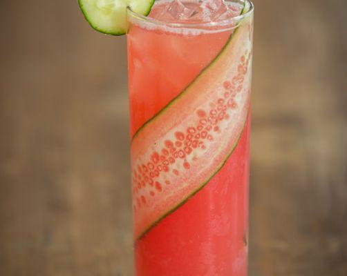 Watermelon & Cucumber Cooler