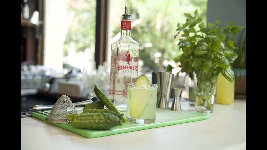 This Week on Happy Hour, the Cucumber Gin Sour