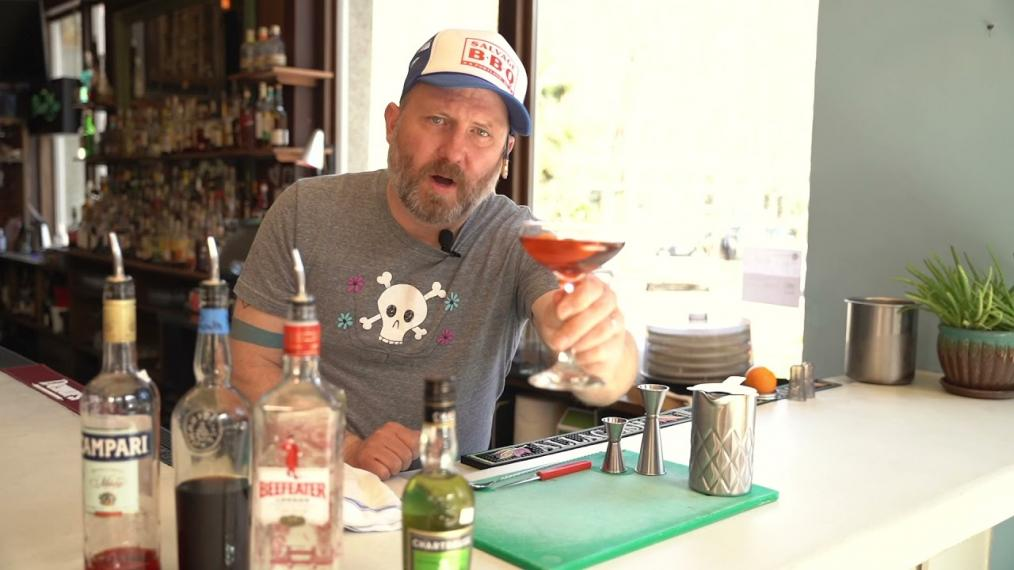 This week for Happy Hour we're making a Bijou Cocktail