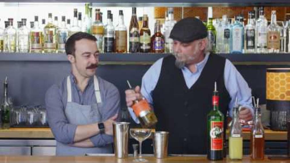 "John Myers and John Myers make ""the Hamlindigo"" with Chesuncook Botanical Spirit!"