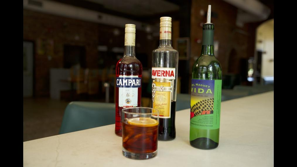 This week on Happy Hour, the Mezcal Negroni