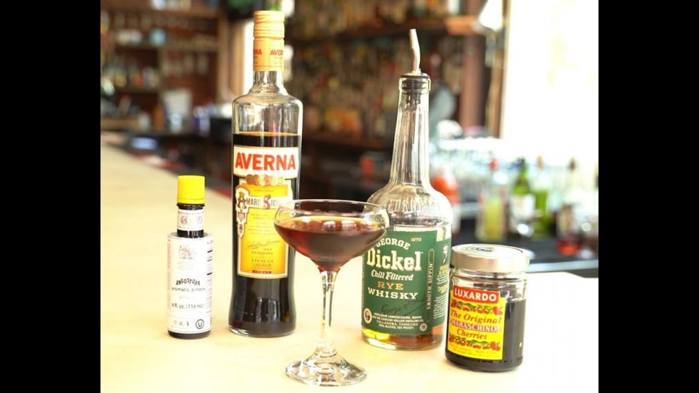This week on Happy Hour, the Black Manhattan