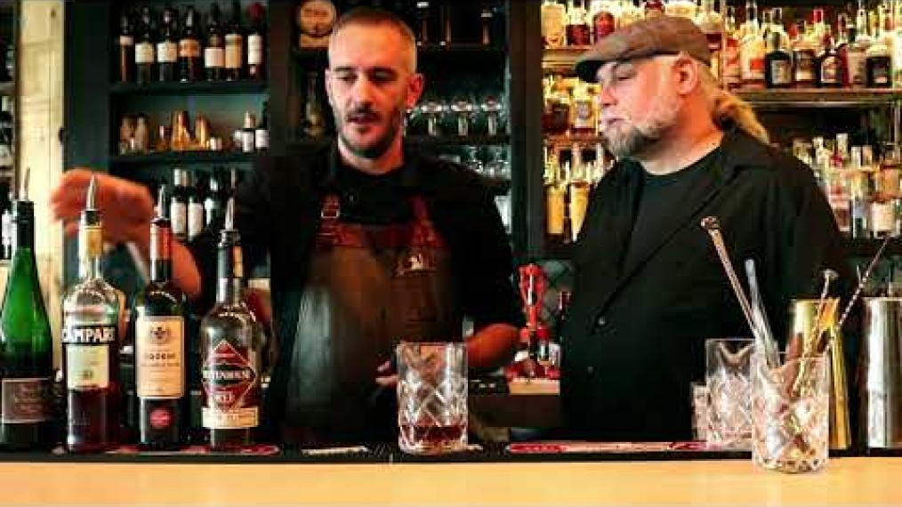 John Myers joins Patrick McDonald at Chaval in Portland to make the Nogal, a tribute to the classic cocktail the Negroni.