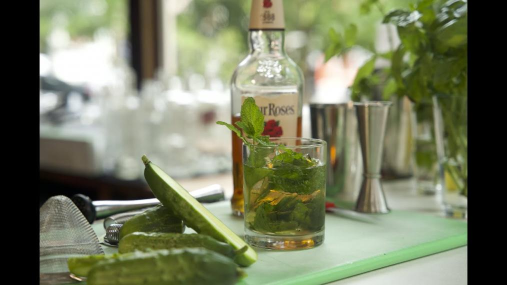 This week on Happy Hour, a Mint Julep