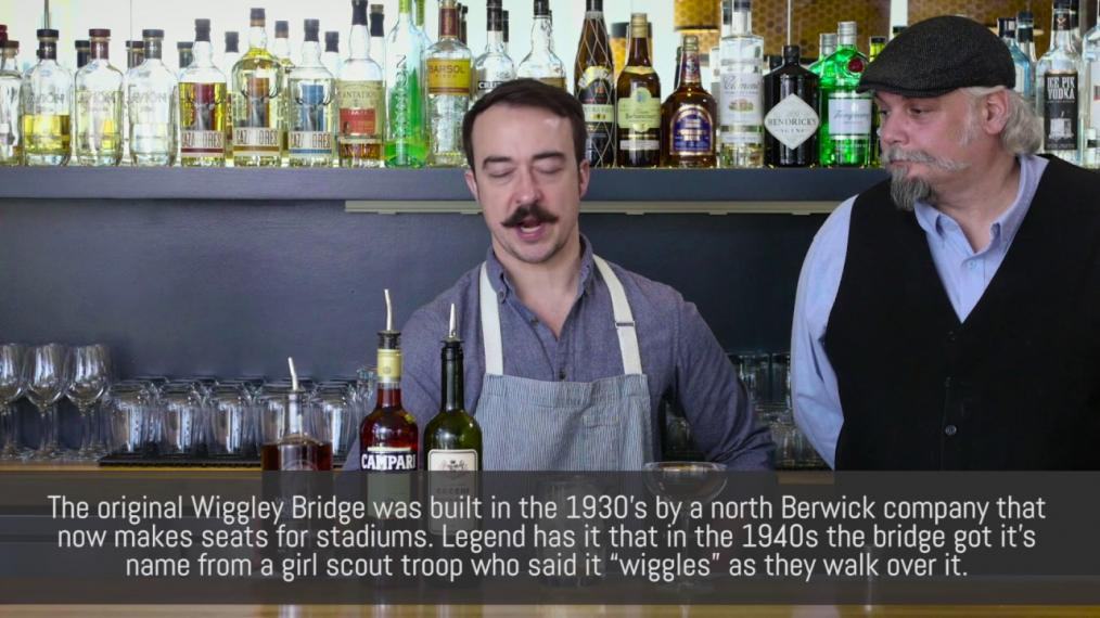 "John Myers and John Myers make ""the Boulevardier"" with Wiggley Bridge!"