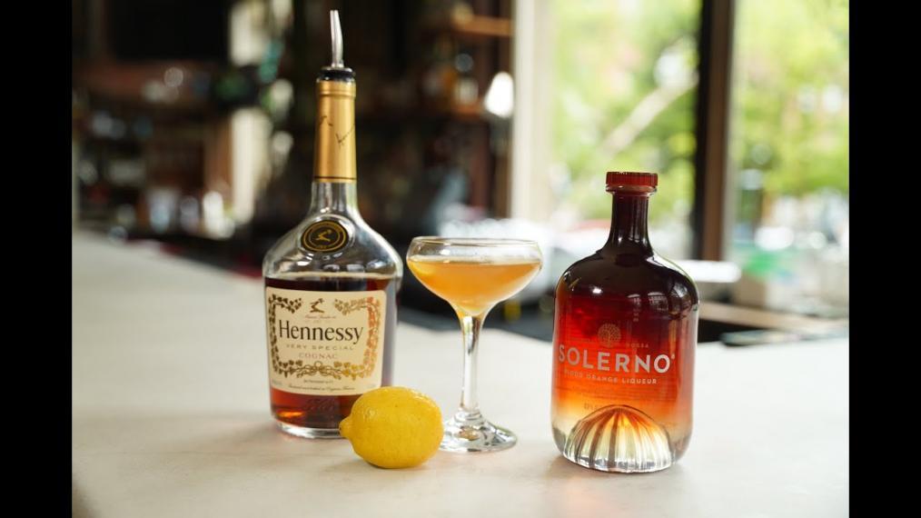 This week on Happy Hour, a Blood Orange Sidecar