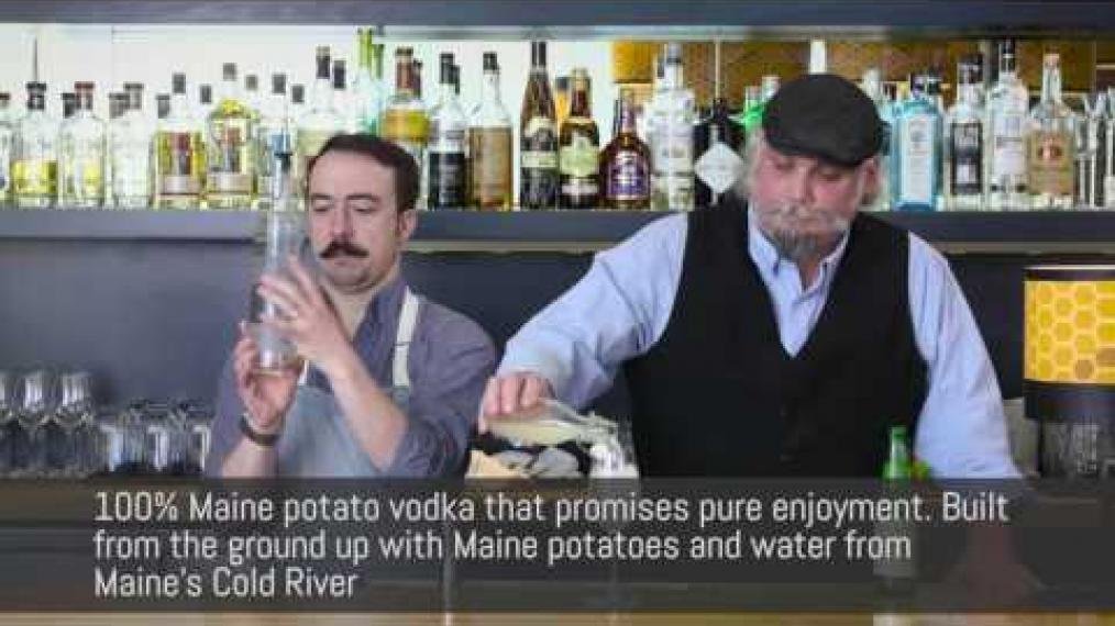 "John Myers and John Myers make ""the Bright and Sunny"" with Cold River Vodka!"
