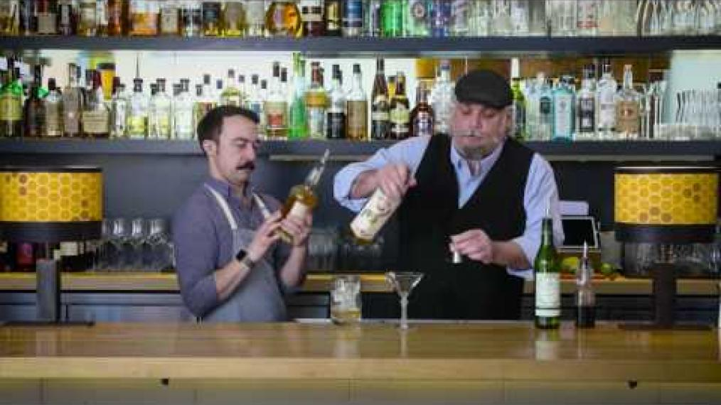 "John Myers and John Myers make ""the Presidente"" with Rusticator Rum!"
