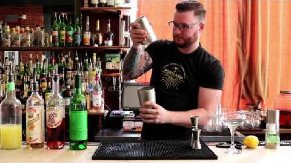 Learn how to make the Pufferfish cocktail with Adam Sousa at Sonny's in Portland!